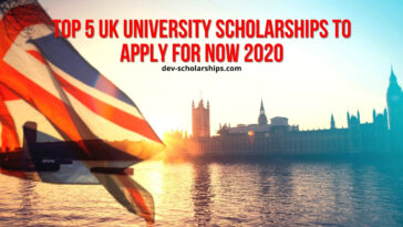 Top 5 University Scholarships to Apply for in the UK, 2021
