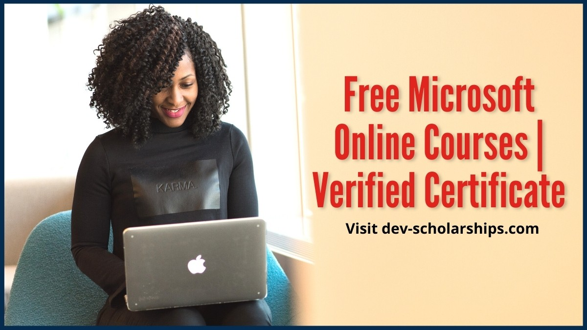 Free Microsoft Online Courses| Verified Certificate (Updated)