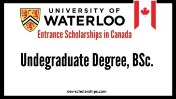 Entrance Scholarships in Canada for International Students