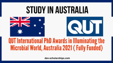 QUT International PhD Awards
