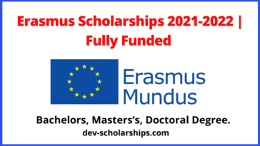 Erasmus Scholarships 2021-2022 | Fully Funded
