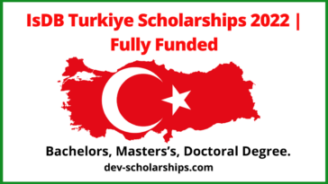 IsDB Turkiye Scholarships 2022