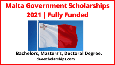 Malta Government Scholarships 2021   Fully-Funded
