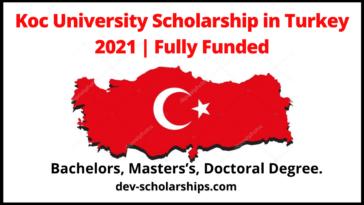 Koc University Scholarship in Turkey